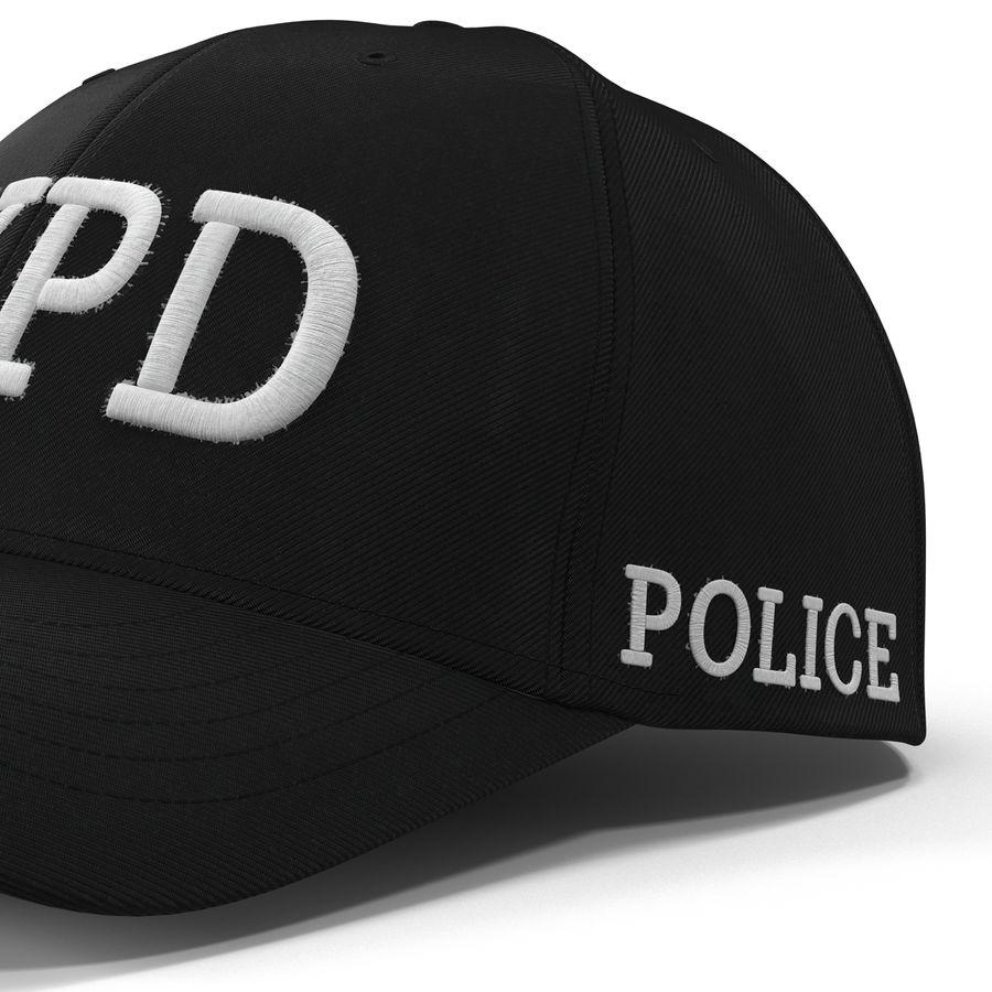 NYPD polis hatt royalty-free 3d model - Preview no. 17