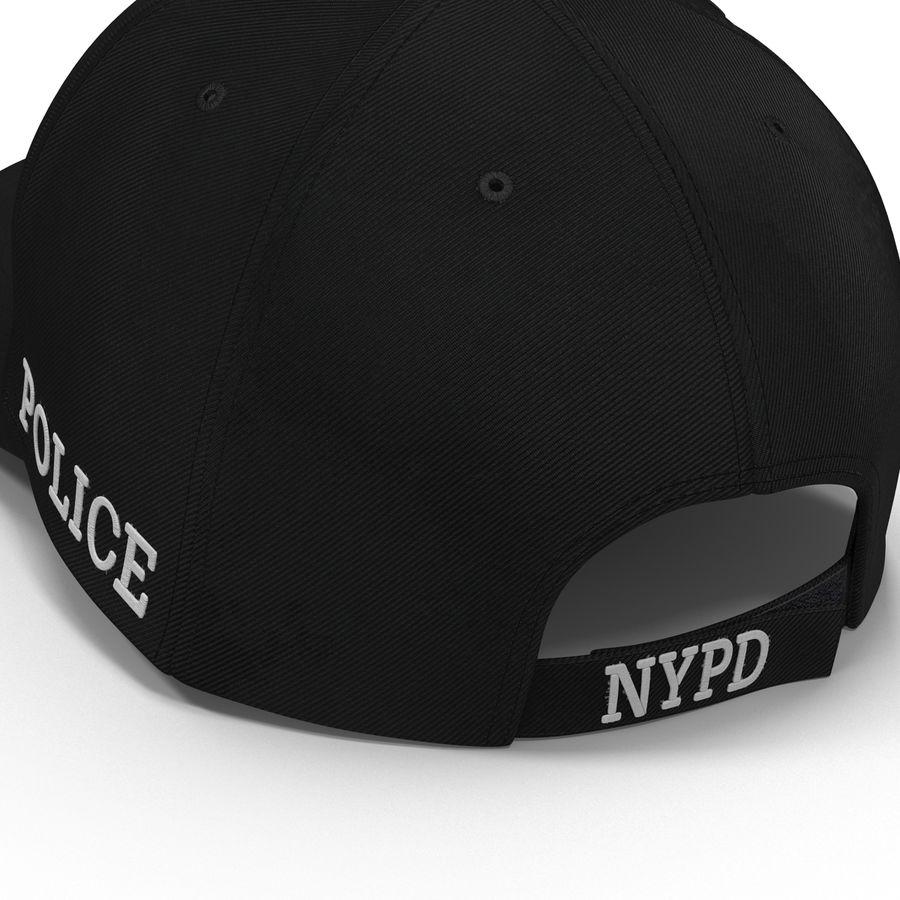 NYPD polis hatt royalty-free 3d model - Preview no. 18