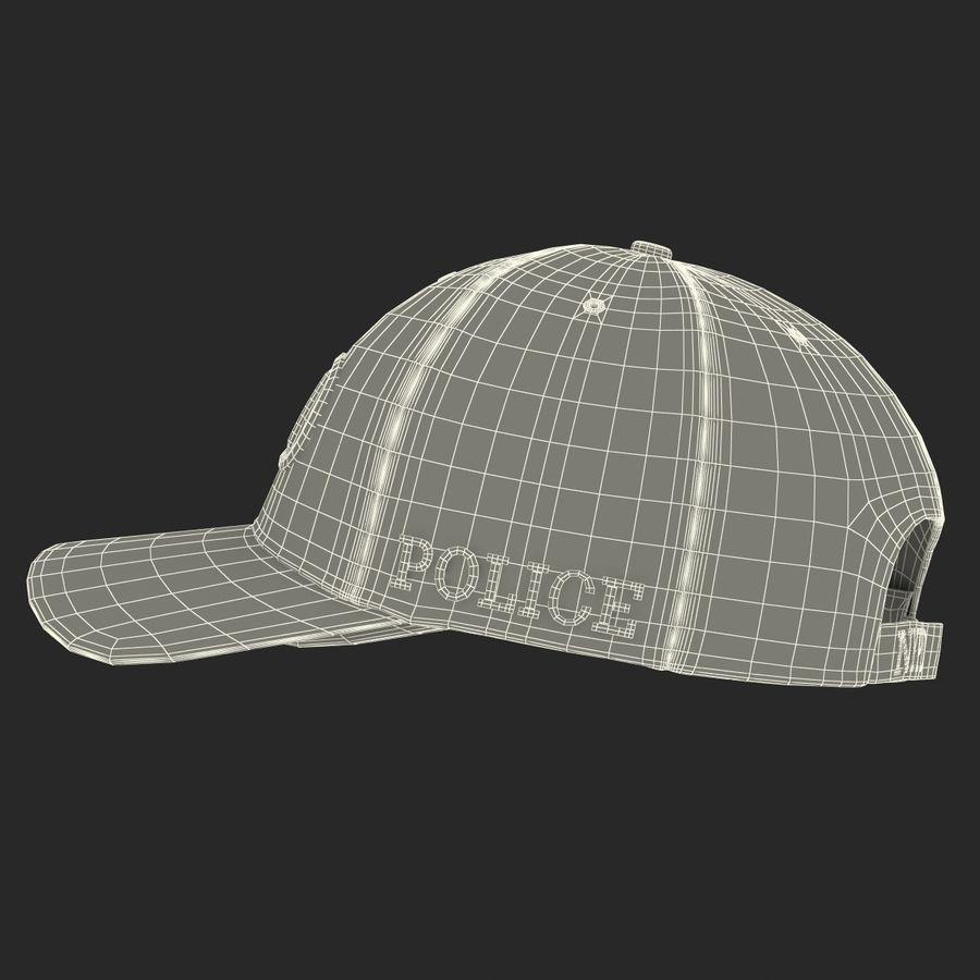 NYPD polis hatt royalty-free 3d model - Preview no. 29