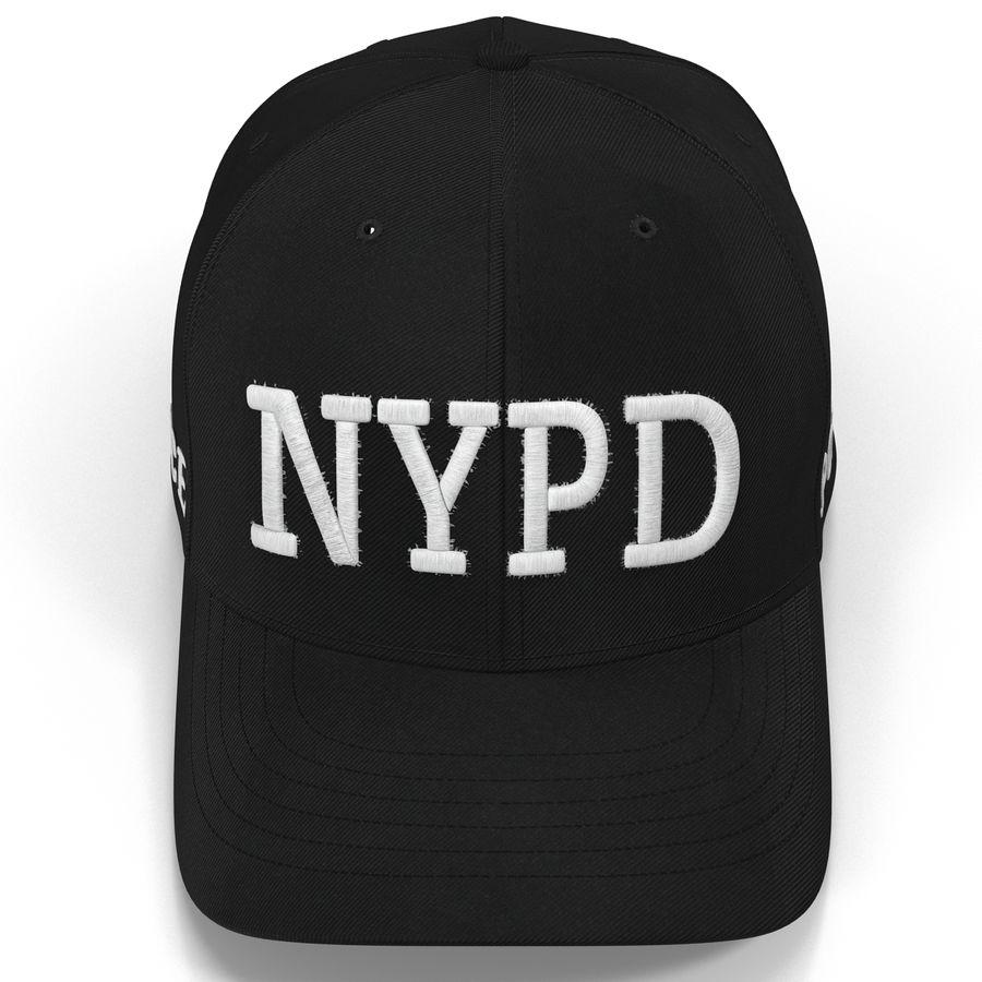 NYPD polis hatt royalty-free 3d model - Preview no. 12