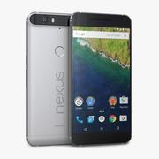 Huawei Nexus 6P Алюминий 3d model