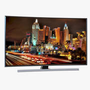 Samsung 4K UHD JU7500 Series Curved Smart TV 78 inch 3d model