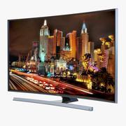 Samsung 4K UHD JU7500 Series Curved Smart TV 40 inch 3d model