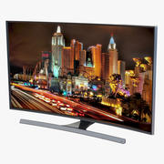 Samsung 4K UHD JU7500 Series Curved Smart TV 50 inch 3d model
