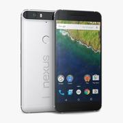 Huawei Nexus 6P Frost or White 3d model