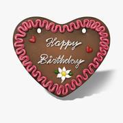 Gingerbread Heart 3d model