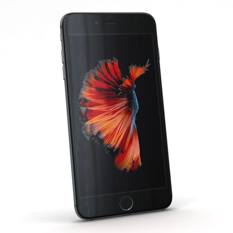 Apple iPhone 6s Plus Cinza Espaço royalty-free 3d model - Preview no. 4