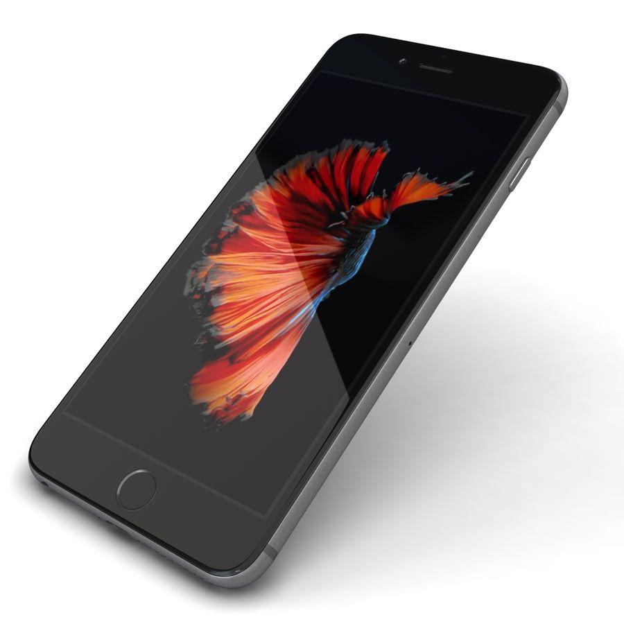 Apple iPhone 6s Plus Cinza Espaço royalty-free 3d model - Preview no. 22