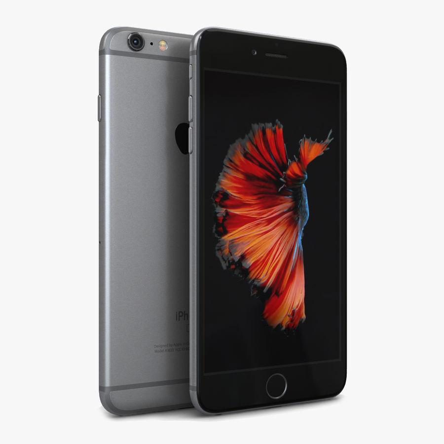 Apple iPhone 6s Plus Cinza Espaço royalty-free 3d model - Preview no. 1