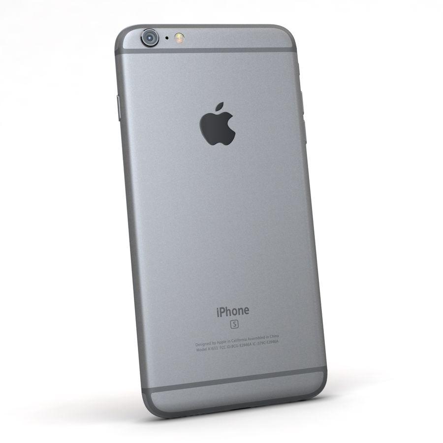 Apple iPhone 6s Plus Cinza Espaço royalty-free 3d model - Preview no. 6