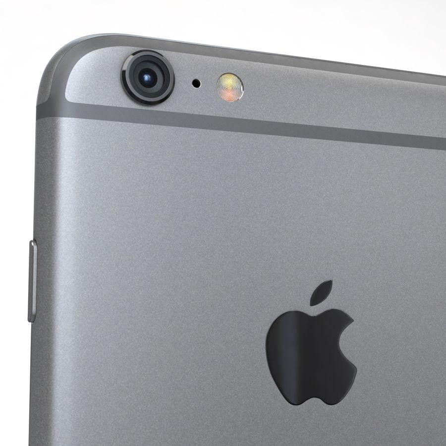 Apple iPhone 6s Plus Cinza Espaço royalty-free 3d model - Preview no. 20