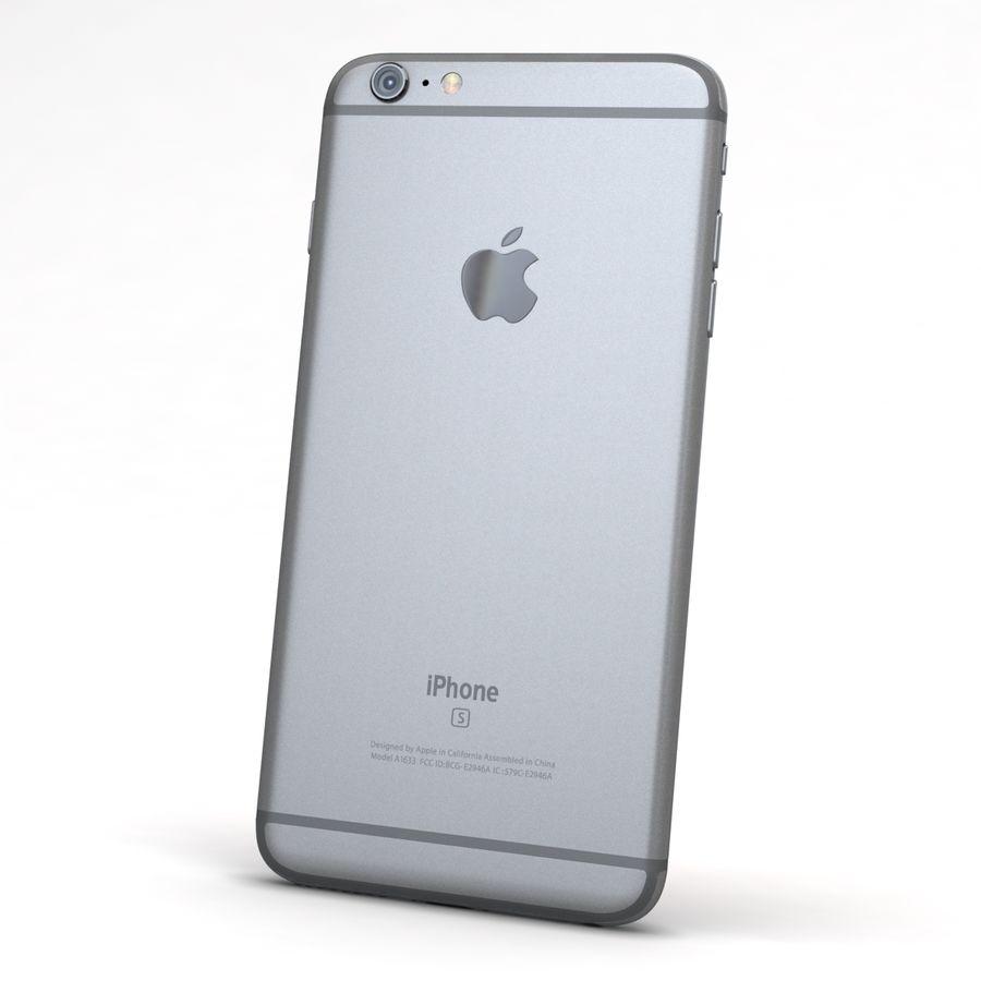 Apple iPhone 6s Plus Cinza Espaço royalty-free 3d model - Preview no. 5