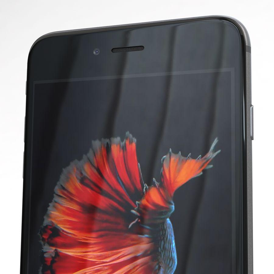 Apple iPhone 6s Plus Cinza Espaço royalty-free 3d model - Preview no. 25