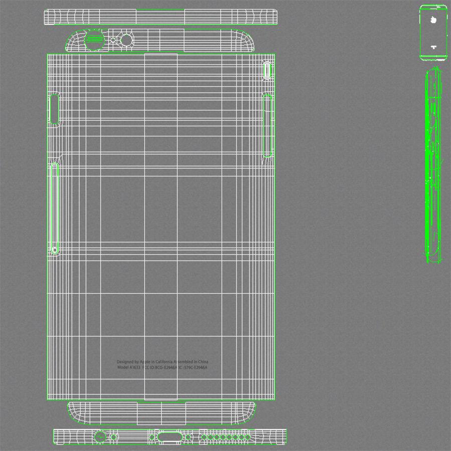 Apple iPhone 6s Plus Cinza Espaço royalty-free 3d model - Preview no. 26