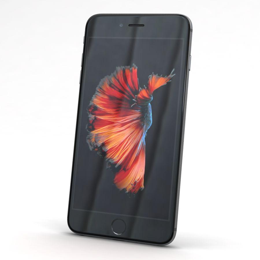Apple iPhone 6s Plus Cinza Espaço royalty-free 3d model - Preview no. 3