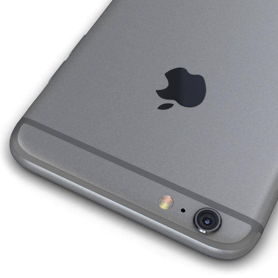 Apple iPhone 6s Plus Cinza Espaço royalty-free 3d model - Preview no. 14