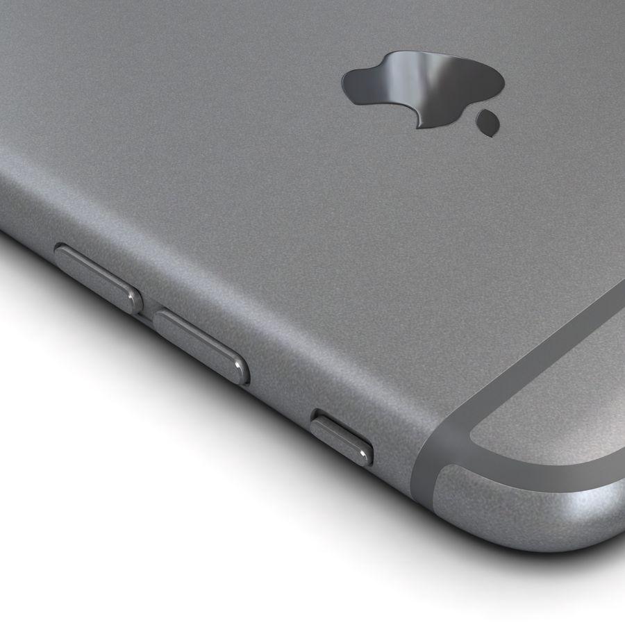 Apple iPhone 6s Plus Cinza Espaço royalty-free 3d model - Preview no. 15