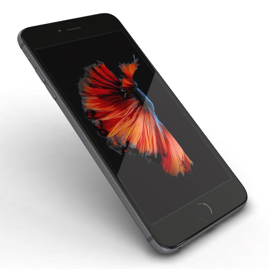 Apple iPhone 6s Plus Cinza Espaço royalty-free 3d model - Preview no. 21