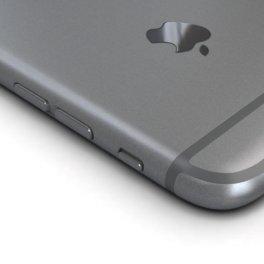 Apple iPhone 6s Espaço Cinzento royalty-free 3d model - Preview no. 15