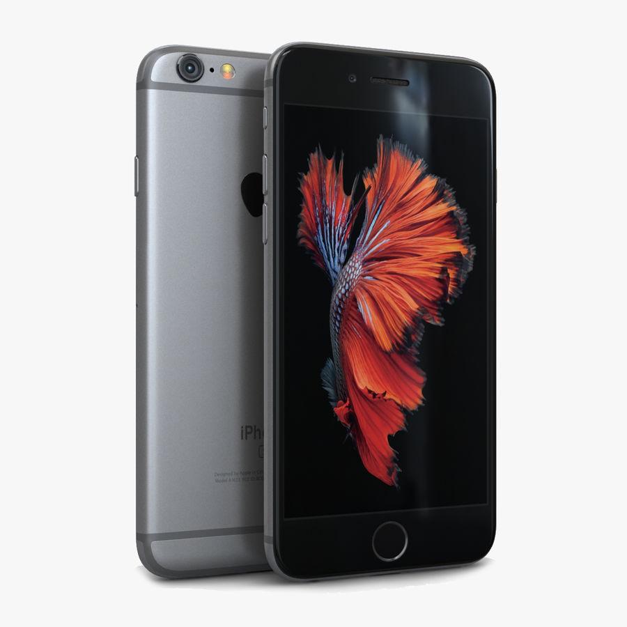Apple iPhone 6s Espaço Cinzento royalty-free 3d model - Preview no. 1