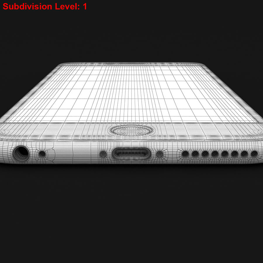 Apple iPhone 6s Plus Prateado royalty-free 3d model - Preview no. 30