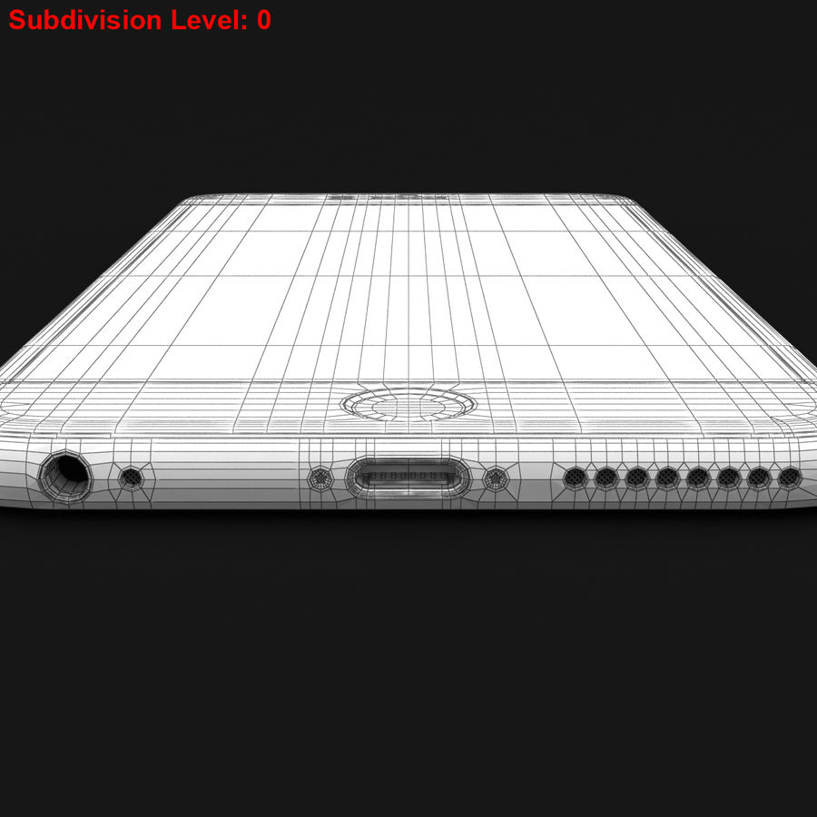Apple iPhone 6s Plus Prateado royalty-free 3d model - Preview no. 31
