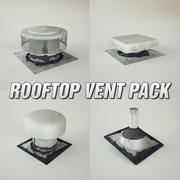 Rooftop Vent Pack 3d model