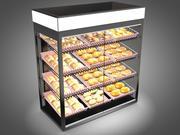 パン屋さんのディスプレイケース 3d model