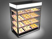 Bakery Display Case 3d model