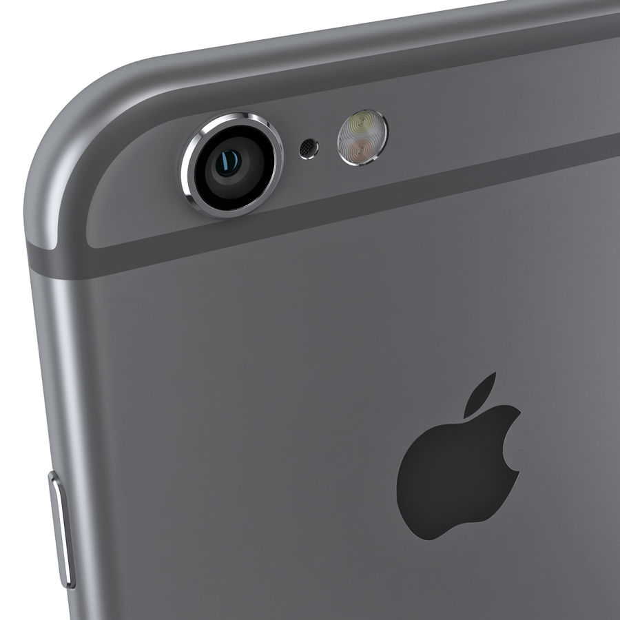 iPhone 6S i iPhone 6S Plus royalty-free 3d model - Preview no. 12
