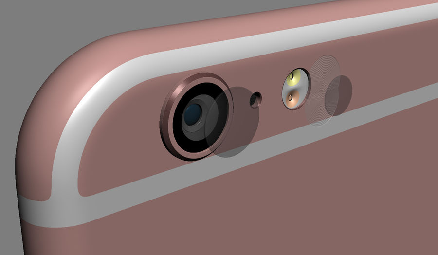 iPhone 6S i iPhone 6S Plus royalty-free 3d model - Preview no. 30