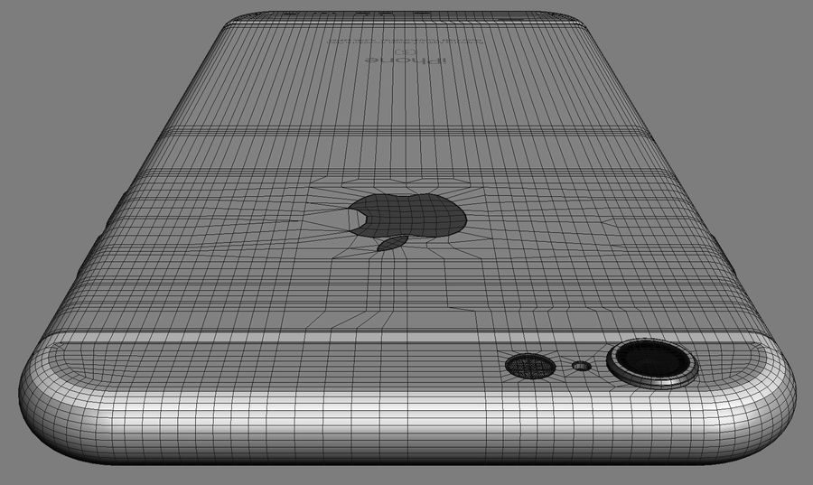 iPhone 6S i iPhone 6S Plus royalty-free 3d model - Preview no. 13