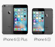 iPhone 6S 및 iPhone 6S Plus 3d model