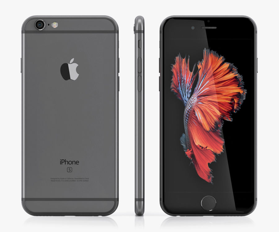 iPhone 6S i iPhone 6S Plus royalty-free 3d model - Preview no. 3