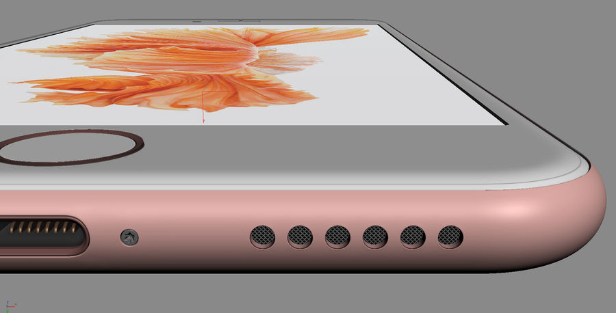 iPhone 6S i iPhone 6S Plus royalty-free 3d model - Preview no. 33