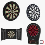 Dart Boards 3D Models Collection 2 3d model