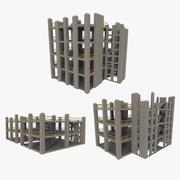 Confezione da cantiere uno strutturato 3d model