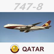 747 8 Catar 3d model