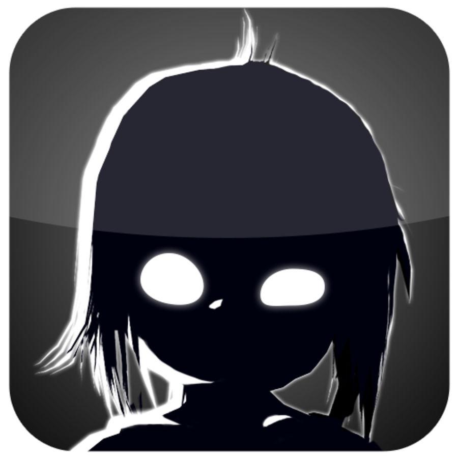 Dziewczyna zabójca royalty-free 3d model - Preview no. 1