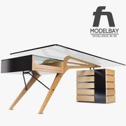 Cavour Desk 3d model