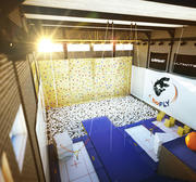 Trampoline sportschool Octane 3d model