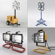 Рабочий свет установлен 3d model