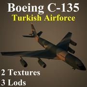 C135 TAF 3d model