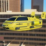 AIR TAXI 3d model