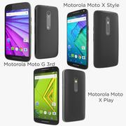 モトローラモトXスタイル、モトローラモトXプレイ、モトローラモトG 3位 3d model