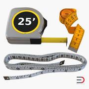 Коллекция инструментов измерения 3d model