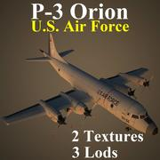 P3 USA 3d model