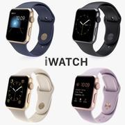 Coleção Apple Watch 2015 3d model