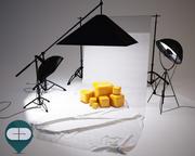 Photo Studio Softbox 3d model