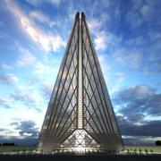 Torre da Rússia 3d model